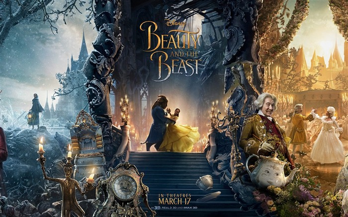 Beauty And The Beast 2017 Movies HD Wallpaper Views:2064