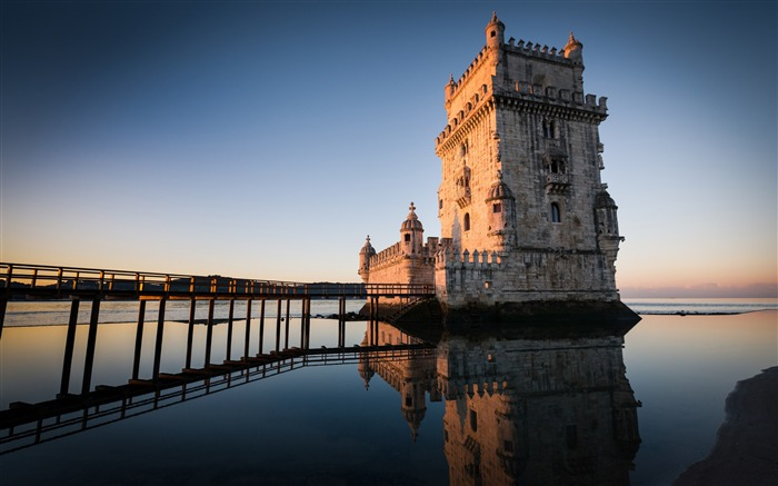 Title:Belem tower in lisbon portugal-High Quality HD Wallpaper Views:532