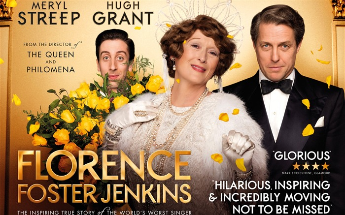 Florence Foster Jenkins-2017 Oscars Movie Wallpaper