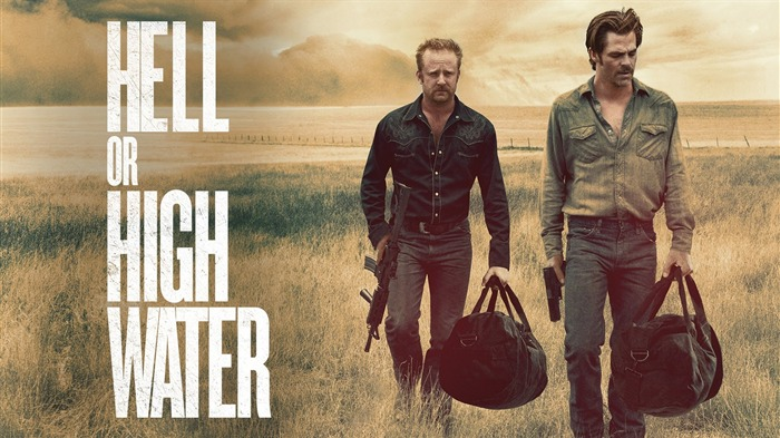 Hell or High Water-2017 Oscars Movie Wallpaper