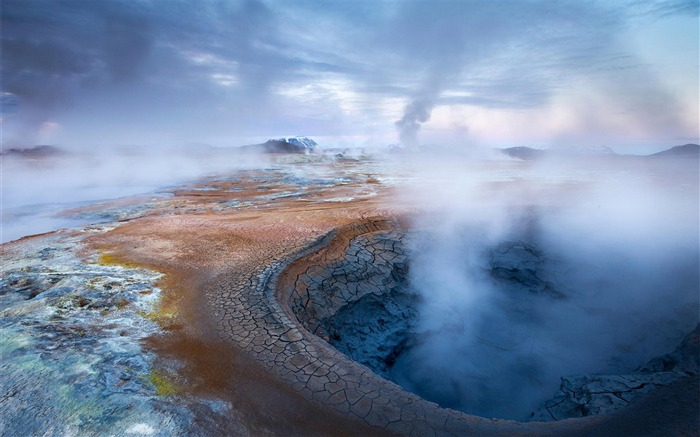 Iceland Travel Nature Landscape Photo Wallpaper 01 Views:1103