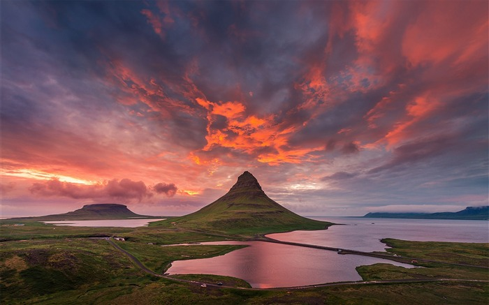 Iceland Travel Nature Landscape Photo Wallpaper 05 Views:854