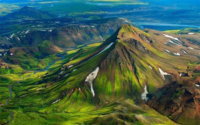 Iceland Travel Nature Landscape Photo Wallpaper 09 Views:1056