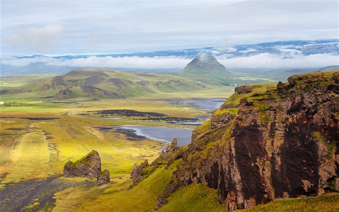 Iceland Travel Nature Landscape Photo Wallpaper 10 Views:980