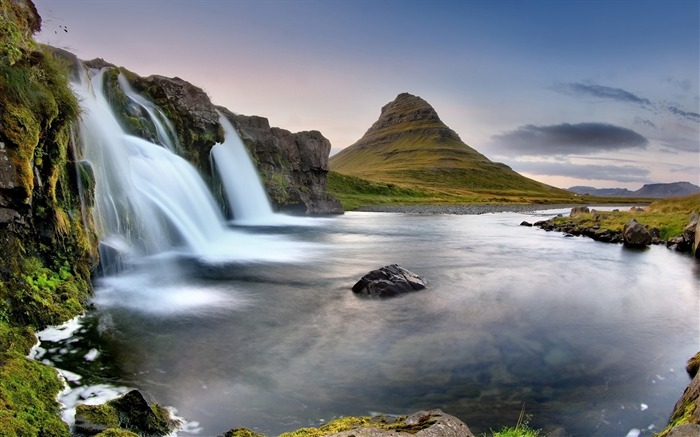 Iceland Travel Nature Landscape Photo Wallpaper 14 Views:887