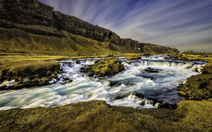 Iceland Travel Nature Landscape Photo Wallpaper 18 Views:527