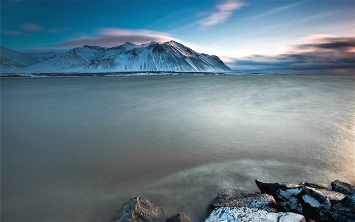 Iceland Travel Nature Scenery Photo Desktop Wallpaper Views:2559