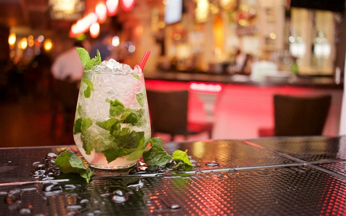 Mojito drink mint ice-High Quality HD Wallpaper Views:1028