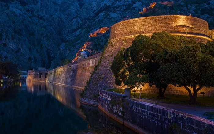 Montenegro The Fortifications of Kotor-2017 Bing Desktop Wallpaper Views:958