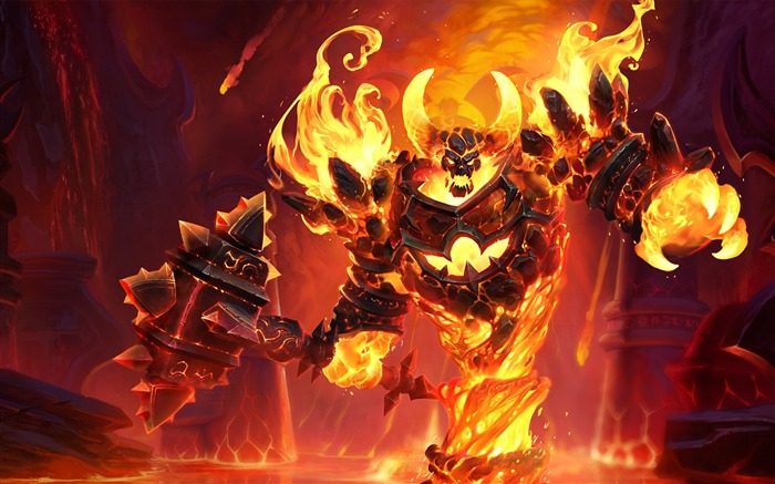 Ragnaros heroes of the storm-2017 Game HD Wallpaper Views:1261