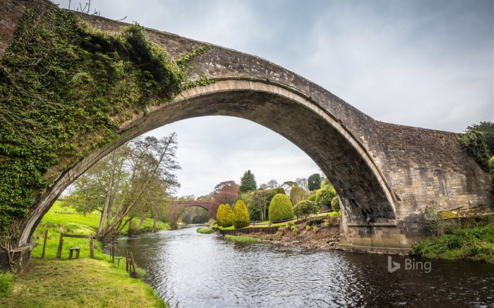 Scotland Brig o Doon in Ayrshire-2017 Bing Desktop Wallpaper Views:1300