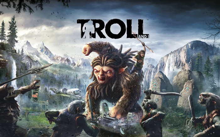 Troll and i-2017 Game HD Wallpapers Views:894