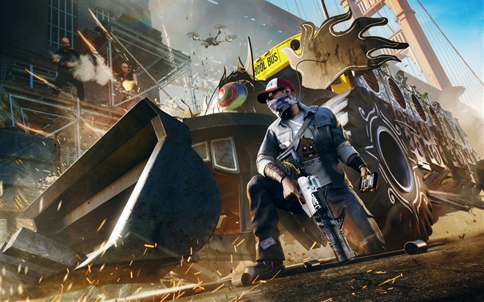 Watch dogs 2 t bone dlc-2017 Game HD Wallpapers Views:302