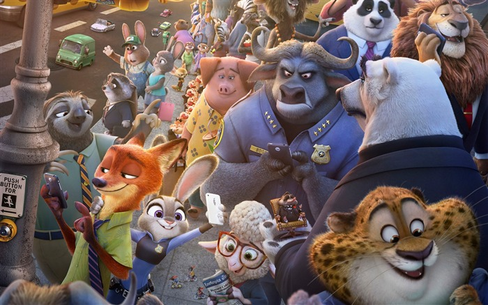Zootopia-2017 Oscars Movie Wallpaper