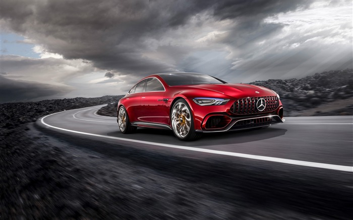 2017 Mercedes-AMG GT Concept HD Wallpaper 08