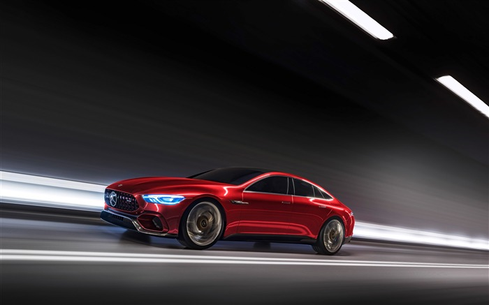 2017 Mercedes-AMG GT Concept HD Wallpaper 10