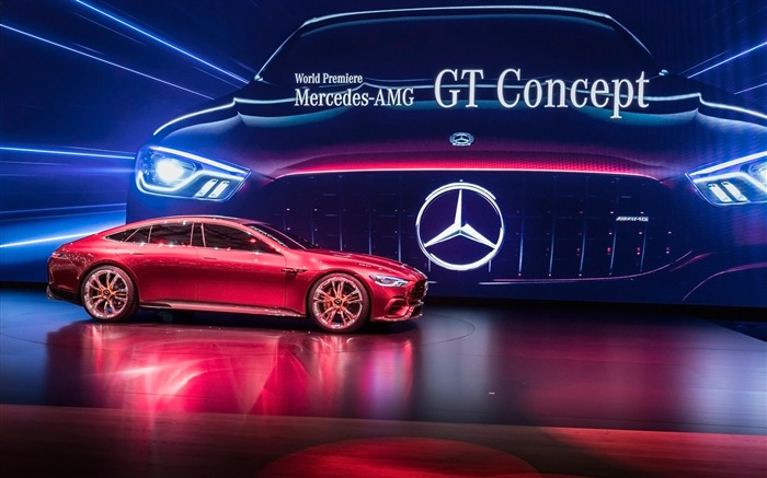 2017 Mercedes-AMG GT Concept HD Wallpaper Views:2377