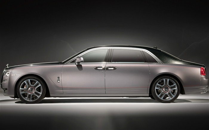 2017 Rolls Royce Ghost Extended-Brand Car HD Wallpaper