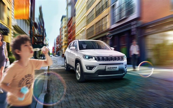 2017 jeep compass limited-Brand Car HD Wallpaper
