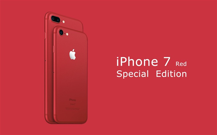 Apple 2017 iPhone 7 Red Special Edition HD Wallpaper 01 Views:1813