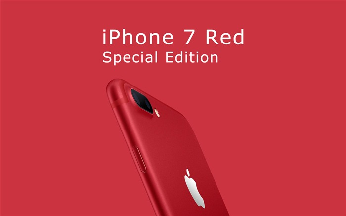 Apple 2017 iPhone 7 Red Special Edition HD Wallpaper 03 Views:1824