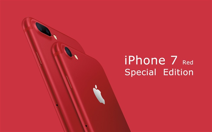Apple 2017 iPhone 7 Red Special Edition HD Wallpaper Views:6698