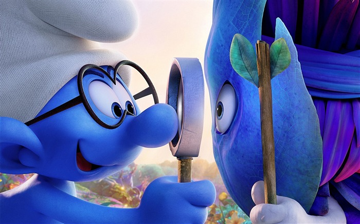 Smurfs The Lost Village 2017 Movie HD Wallpaper Views:3700