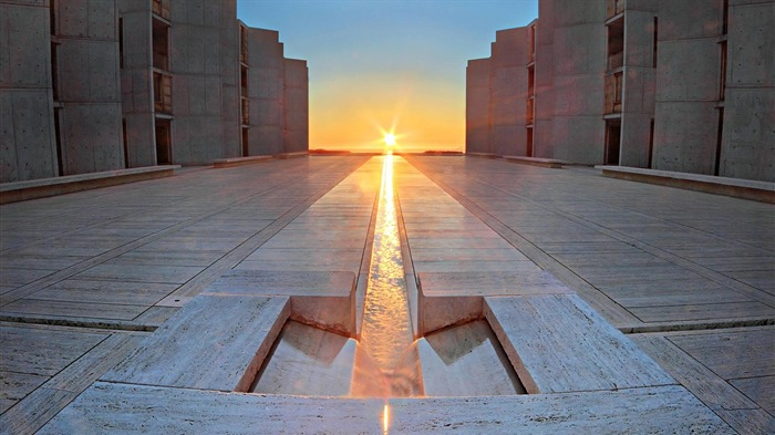 California San Diego Equinox at the Salk Institute for Biological Studies-2017 Bing Desktop Wallpaper Views:587