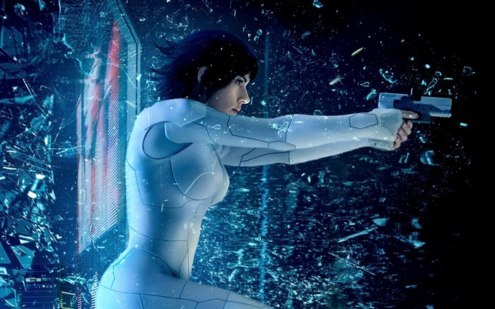Ghost in the Shell 2017 Scarlett Johansson Wallpaper Views:7238