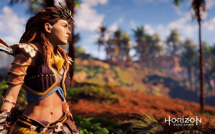 Horizon Zero Dawn 2017 Game Wallpaper 02