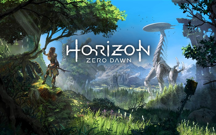 Horizon Zero Dawn 2017 Game Theme Wallpaper Views:3574