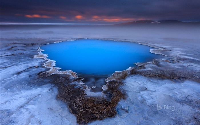 Hveravellir hot spring on Kjolur plateau Iceland-2017 Bing Desktop Wallpaper Views:1002