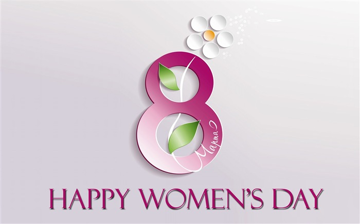 March 8 Happy Womens Day 2017 Wallpaper 02