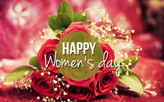 March 8 Happy Womens Day 2017 Festivals Wallpaper Views:1549