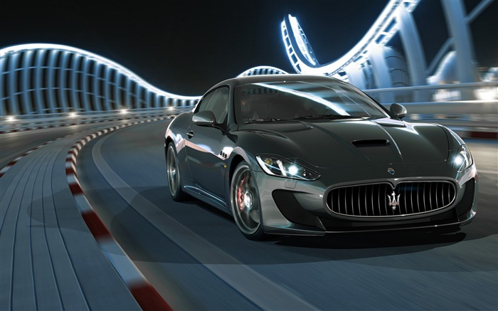 Maserati granturismo sport 2017-Brand Car HD Wallpaper