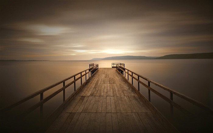 Peaceful dock-2017 High Quality Wallpaper Views:1108