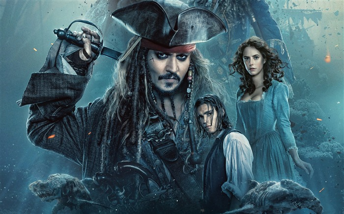 Title:Pirates of the caribbean dead men tell no tales-2017 Movie Wallpaper Views:836
