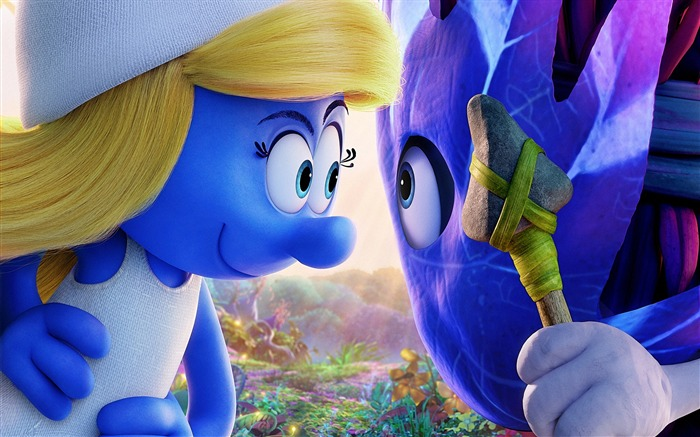 Smurfette-Smurfs The Lost Village 2017 Wallpaper Views:1859