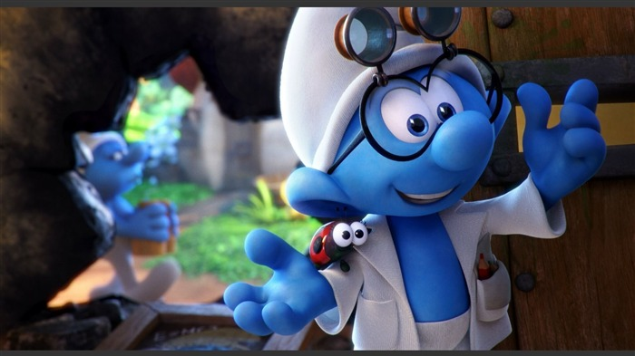 Smurfs The Lost Village 2017 HD Wallpaper 01 Views:657