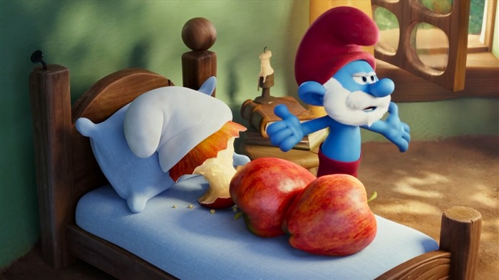 Smurfs The Lost Village 2017 HD Wallpaper 02 Views:662