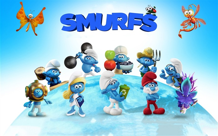 Smurfs The Lost Village 2017 HD Wallpaper 03 Views:1177