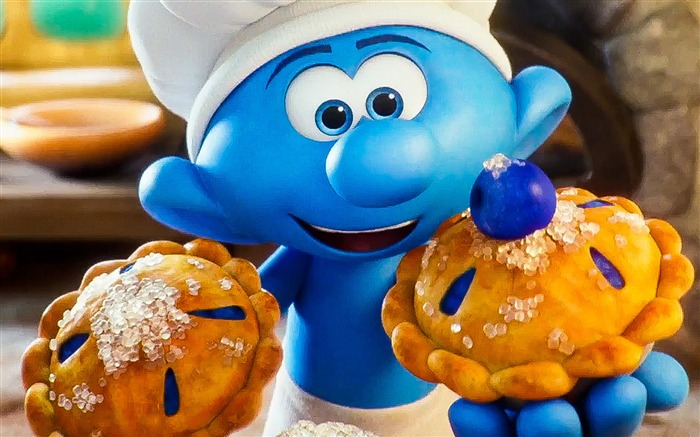Smurfs The Lost Village 2017 HD Wallpaper 04 Views:1193