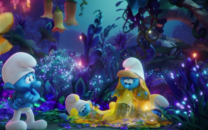 Smurfs The Lost Village 2017 HD Wallpaper 07 Views:1306