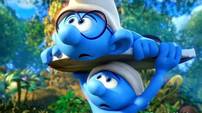 Smurfs The Lost Village 2017 HD Wallpaper 12 Views:679
