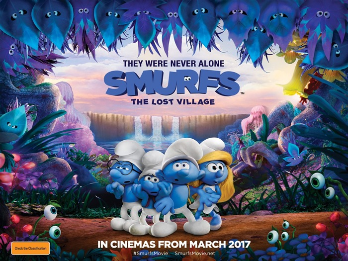 Smurfs The Lost Village 2017 HD Wallpaper 13 Views:176