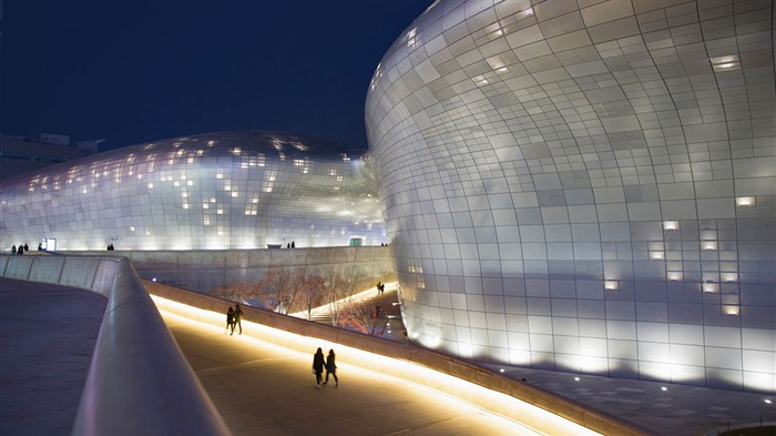 South Korea Dongdaemun Design Plaza in Seoul-2017 Bing Desktop Wallpaper Views:927