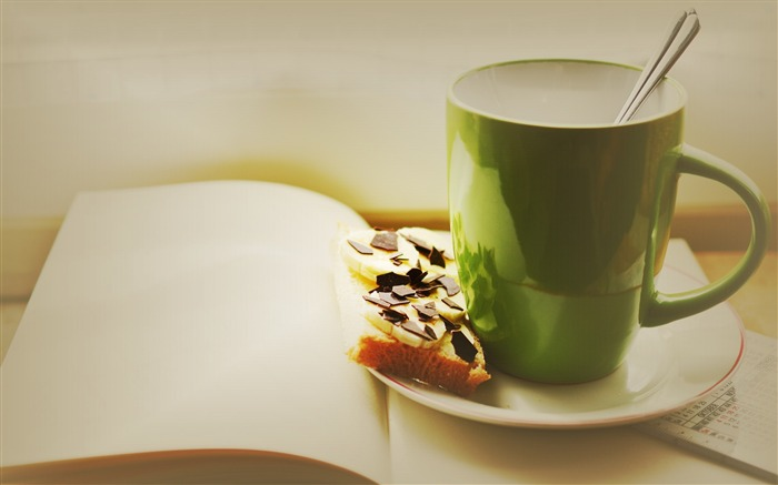 Cup sandwich chocolate-Food Theme HD Wallpaper