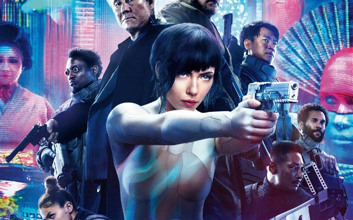 Ghost In The Shell-2017 Movie HD Wallpaper Views:1105