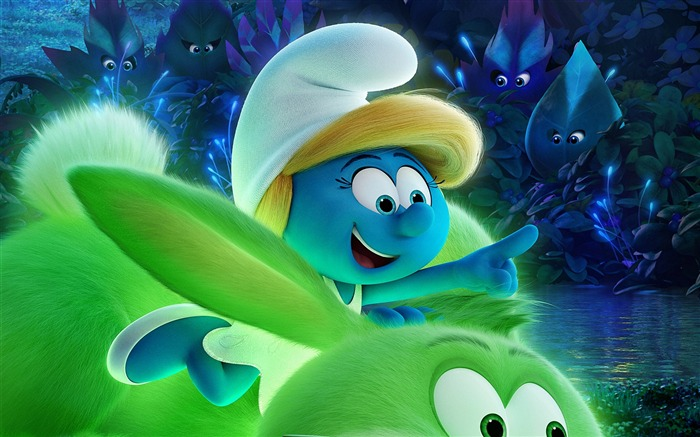 Smurfs The Lost Village 2017 HD Wallpaper 15 Views:700
