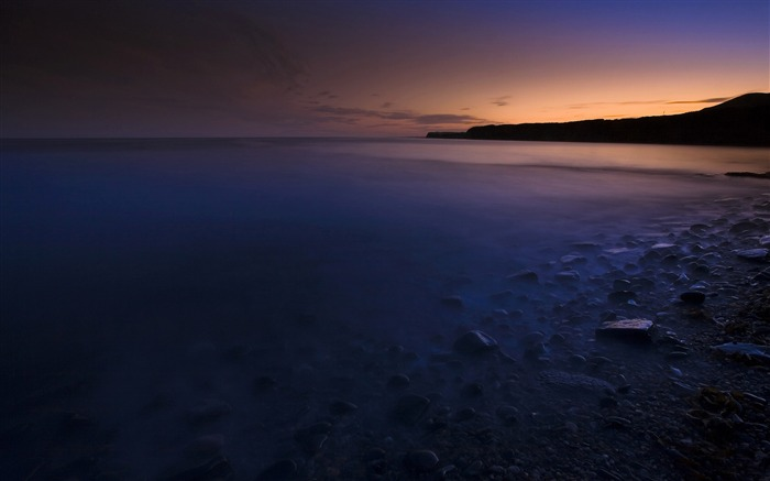 kimmeridge bay dawn-Scenery Photo HD Wallpaper
